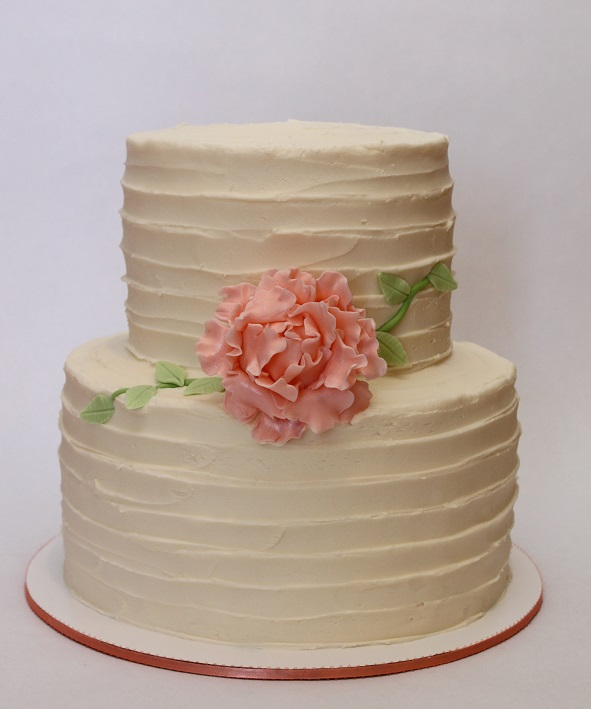 2-Tier Impressed Buttercream