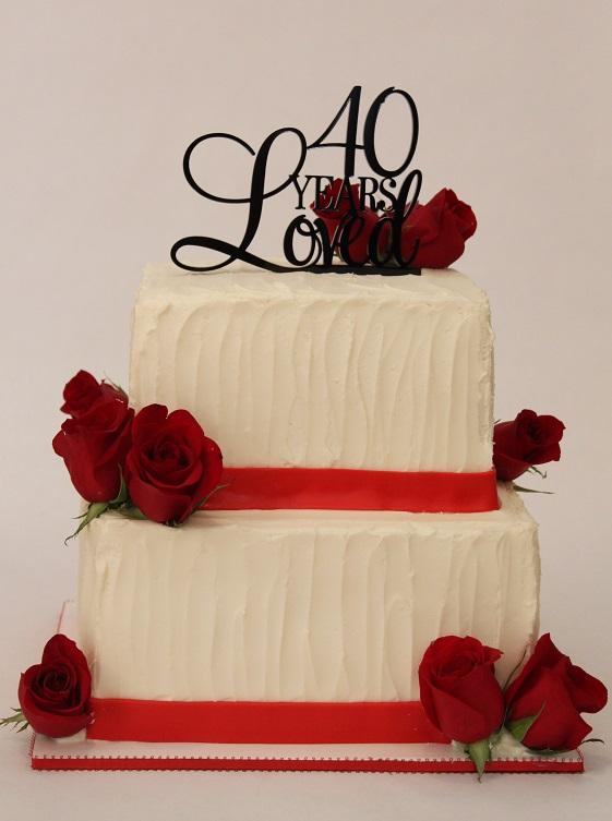 40 Years Loved - Anniversary