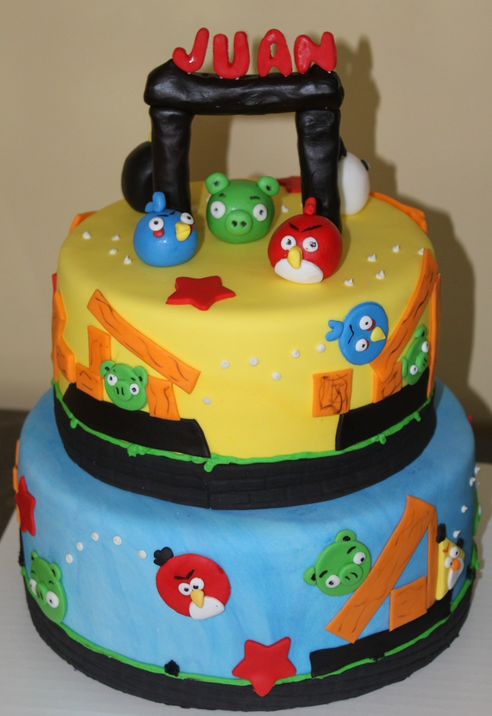Angry Birds (2-tier)
