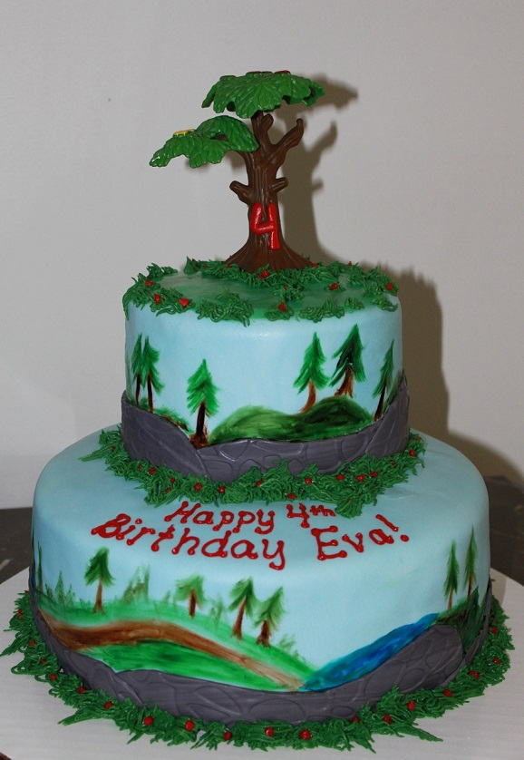 2-Tier Brave Forest