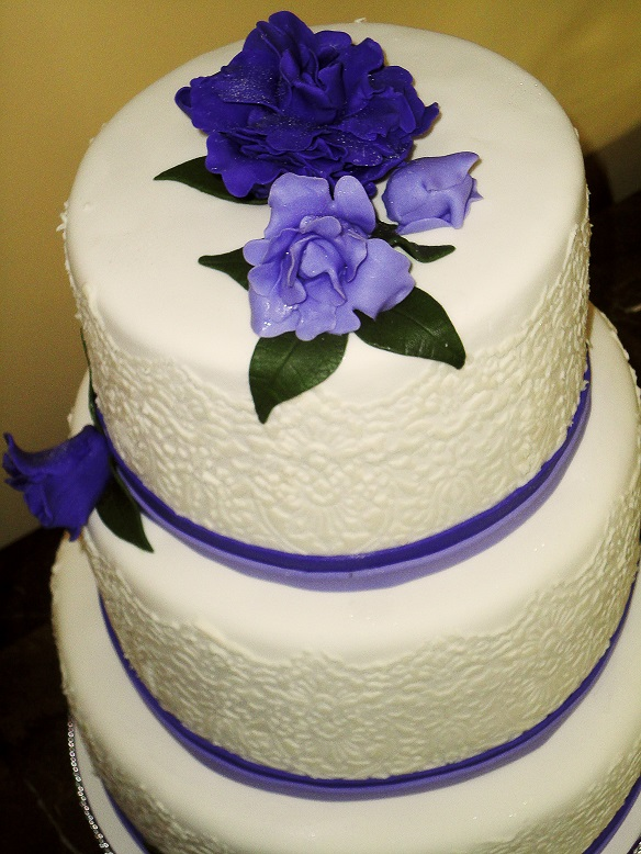 Purple Lace Wedding