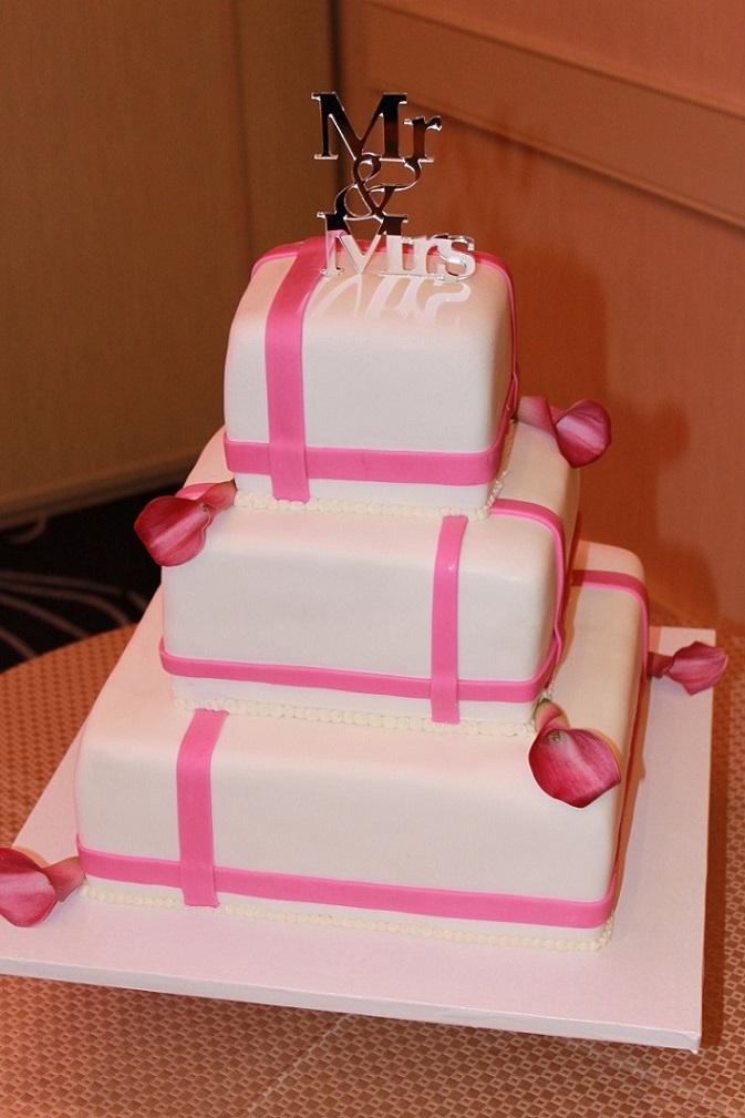 Pink Mod Wedding