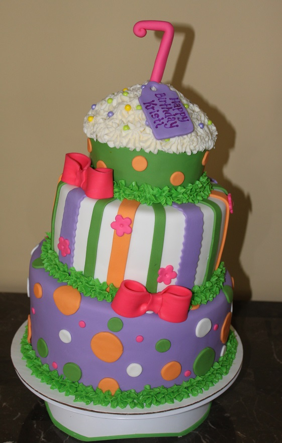 Topsy-Turvy Cupcake
