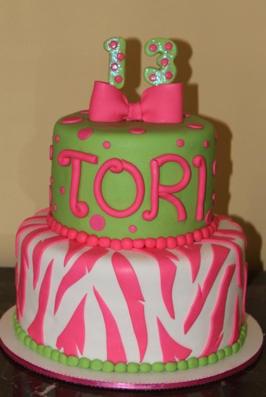 Tori's Zebra