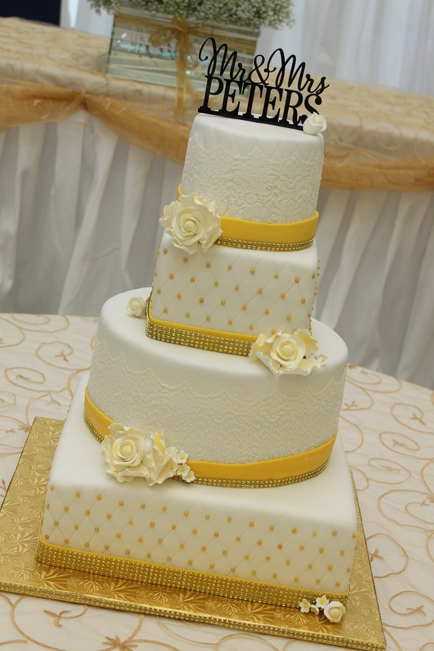 Yellow Gold Wedding